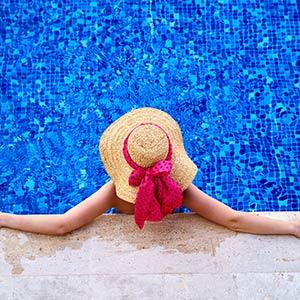 Come abbellire una piscina fuori terra