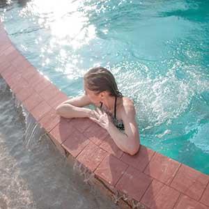 Skimmer per piscina