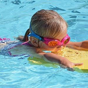 piscina per bambino